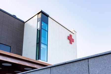 Kymen Sairaala, kuva ulkoa